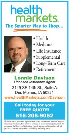 Lonnie Davison - Health Markets